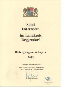 Der Landkreis als Bildungsregion