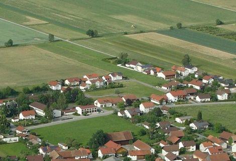 Luftaufnahme Baugebiet Gergweis-Schule