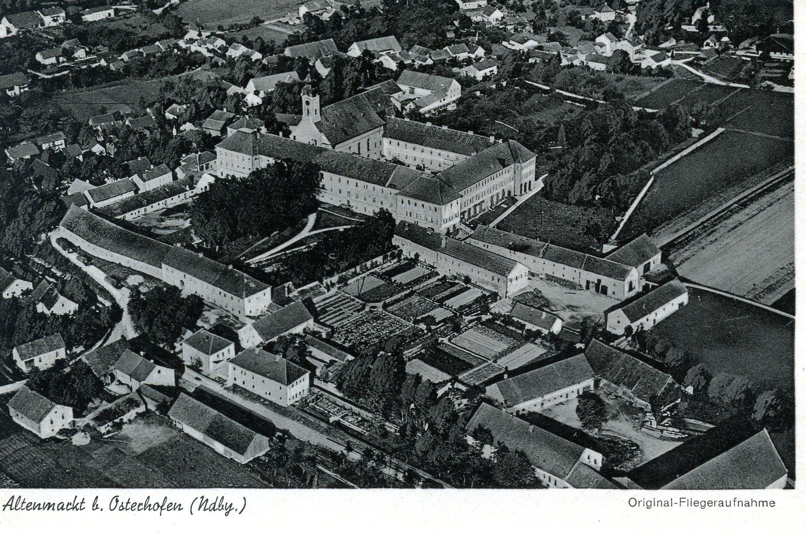 Postkarte aus dem Jahr 1942