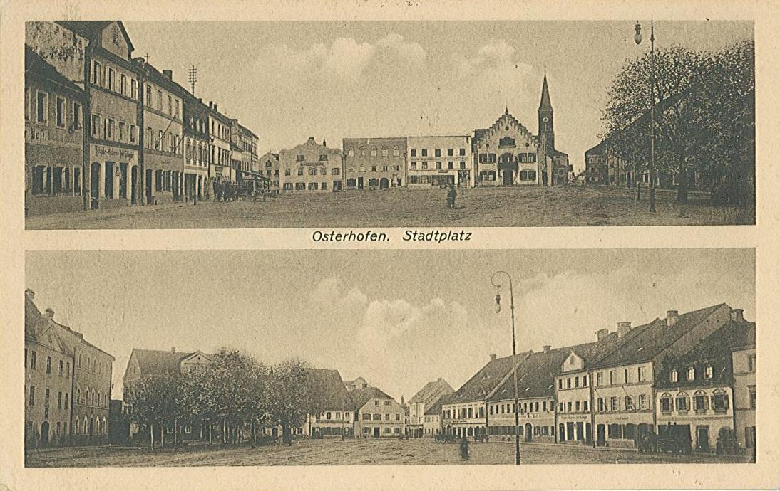 Postkarte ca. 1919