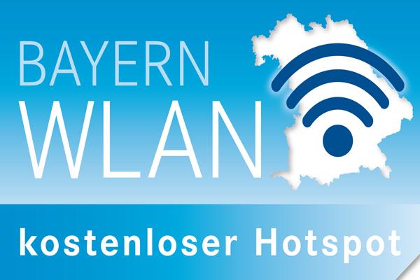 Kostenloser Hotspot für BayernWLAN